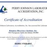 食品添加物・健康食品に関して国内初-当研究所が国際規格「ISO/IEC17025:2017」認定を取得しました